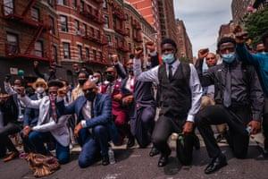 Black Lives Matter best dressed protest, New York.