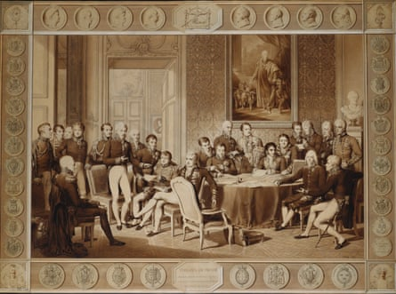 The Congress of Vienna by Jean-Baptiste Isabey.