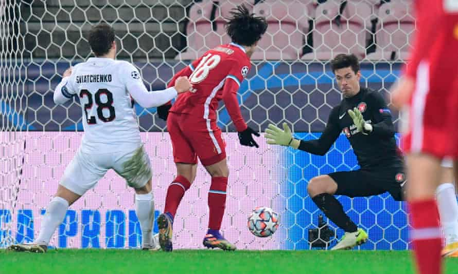 Takumi Minamino's 89th-minute effort was ruled out in confusing circumstances after the offside it was initially disallowed for proved incorrect.