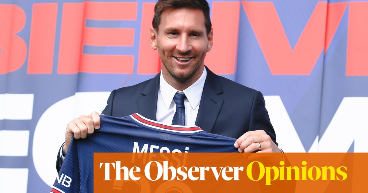 PSG's signing of Lionel Messi shows celebrity is trumping competition