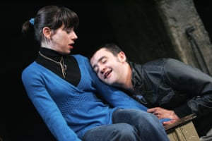 Sally Hawkins and Daniel Mays in The Winterling