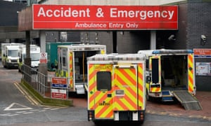 A&E ambulances