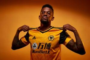 Wolverhampton Wanderers unveil new signing Nelson Semedo.
