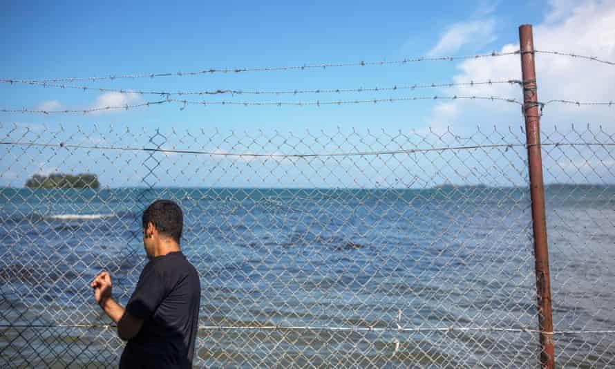 The Australia offshore detention center at Manus island