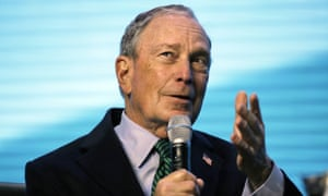 Mike Bloomberg in San Francisco on 11 December 2019.