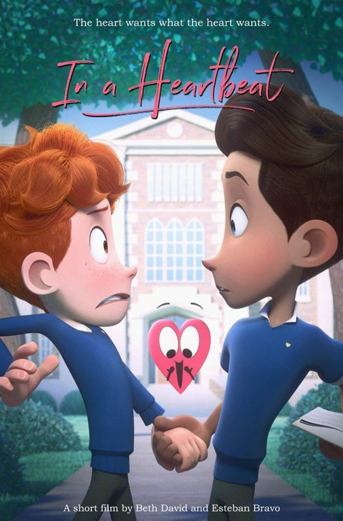 In a Heartbeat: the story behind the animated gay love short