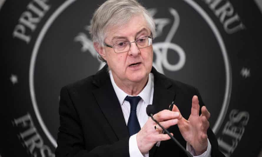 Mark Drakeford said: 'There is no institutional architecture to make the United Kingdom work.'