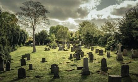 Graveyard in Carriden, West Lothian