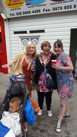 """<strong>Having fun with family</strong><br>My 2 sister in laws<br>Photograph: <a href=""""https://witness.theguardian.com/assignment/55deeea5e4b0778f0c23e764/1689943"""">Sue Boon/GuardianWitness</a>"""