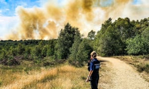 Surrey Fire Service Declares Major Incident After 100 Homes Evacuated Uk News The Guardian