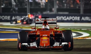 F1: Singapore Grand Prix – as it happened | Sport | The Guardian