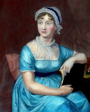 Author Jane Austen.