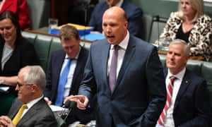The Australian home affairs minister Peter Dutton said of the athletes seeking protection that 'Australians hate being taken for a ride by freeloaders'.