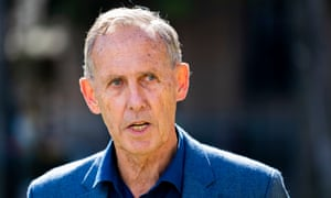 Former Greens leader Bob Brown has been arrested for trespassing.