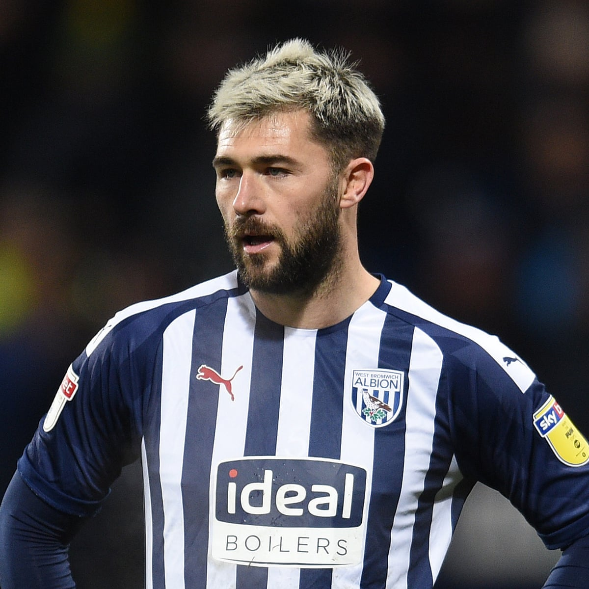 Don T Take It Lightly Charlie Austin Says He Suffered Acute Covid 19 Symptoms West Bromwich Albion The Guardian