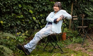 Ali Smith at her home in Cambridge.