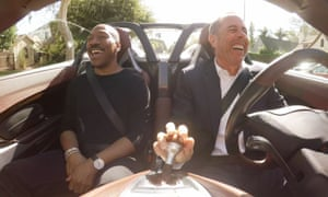 Eddie Murphy and Jerry Seinfeld in Comedians in Cars Getting Coffee