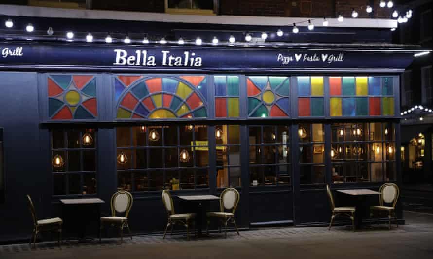 A branch of the Bella Italia restaurant chain.