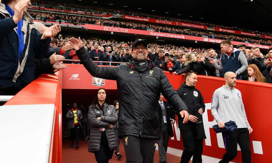 Liverpool and Jürgen Klopp will surely be City's closest challengers
