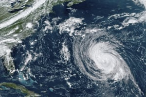 The Atlantic OceanA satellite image shows Hurricane Larry in the Atlantic Ocean. The National Weather Service is warning that swells from Hurricane Larry will create dangerous rip current conditions.