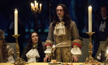 How dare you suggest this isn't historically accurate? Louis gives his best withering look while his brother the less-bad Philippe looks on.