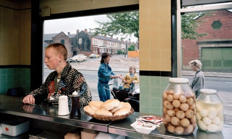 Andy Collins captured by Martin Parr: 'I left that chippy and never gave it a second thought'