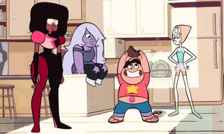 Steven Universe TV UK love relationships Cartoon Network LGBT