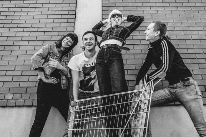 Amyl and the Sniffers review – turning pub rock bravado into