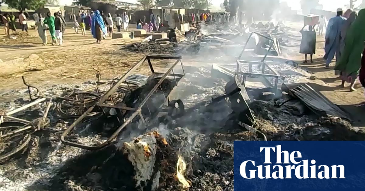 Boko Haram fighters kill dozens at funeral in Nigeria