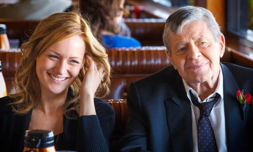 'A complete mismatch' … Jerry Lewis and Kerry Bishé.