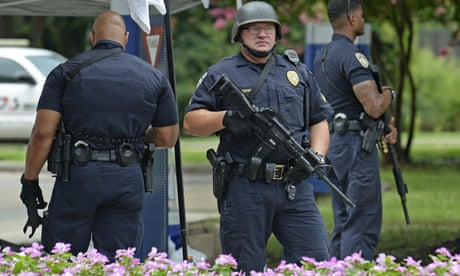 Barack Obama Condemns Killing Of Three Police Officers In Baton Rouge Shooting Louisiana The Guardian
