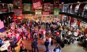 Momentum's The World Transformed event in Liverpool, 2016.