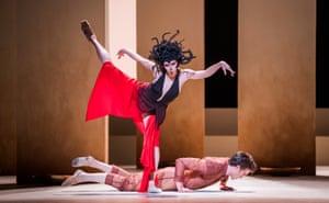 Natalia Osipova and Matthew Ball in the world premiere of Medusa by Sidi Larbi Cherkaoui.