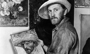 Douglas as Vincent van Gogh in Lust for Life