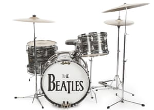Ringo Starr's Beatles' drum kit sells for $2 2m at auction