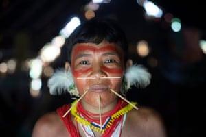 Noemia Yanomama está preocupada com o fato de as doenças se espalharem do garimpo para a comunidade local.