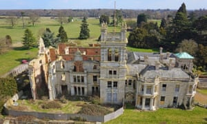 Overstone Hall, in the East Midlands, was completed in 1860 but its owner hated it and never lived there.