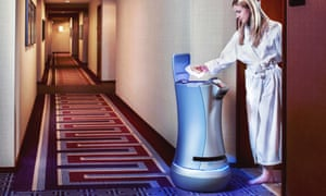 Meet 'Botlr', a towel-delivering assistant that's already being experimented with at Aloft Hotels.