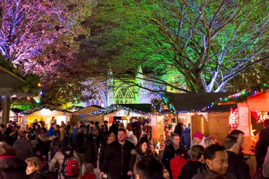 Christmas market St Albans