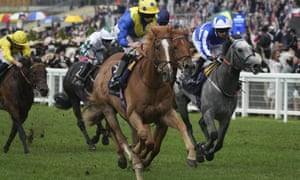 Ryan Moore rides Dream of Dreams to success in the Diamond Jubilee Stakes.
