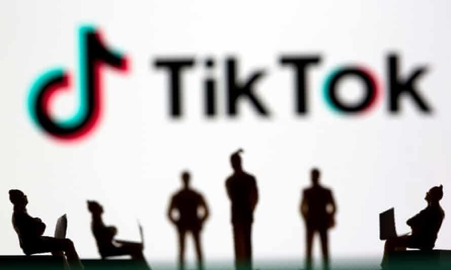 File photo of the TikTok logo