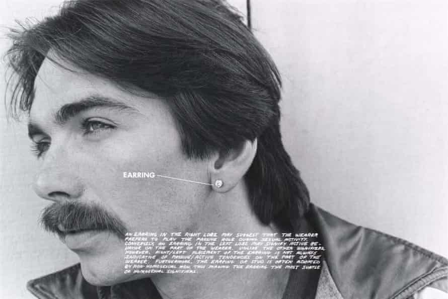 The meaning of earrings, from Gay Semiotics.