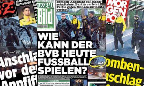 Borussia Dortmund blasts: German media attack game's hasty rescheduling