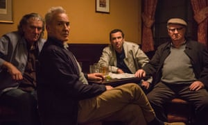 Clive Russell, Larry Lamb, Phil Daniels and David Calder in The Hatton Garden Job.