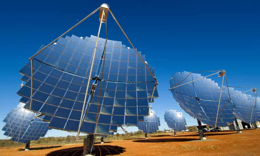 Solar farm in the Northern Territory