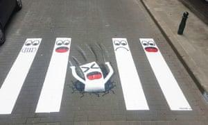 OakOak street art, Brussels
