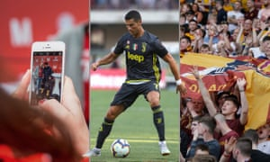 Bayern Munich, Cristiano Ronaldo and Motherwell are all big hitters on social media. Photographs by Getty and PA