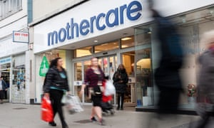 Mothercare had already cut its UK store total from 134 after a collapse in sales.