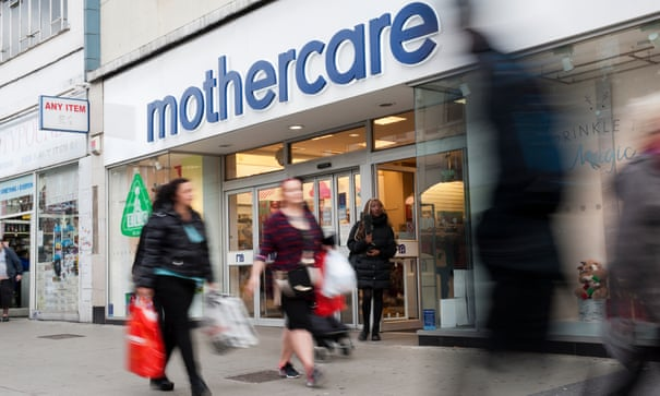 Mothercare to appoint administrators for UK chain, putting 2,500 jobs at risk | Mothercare | The Guardian