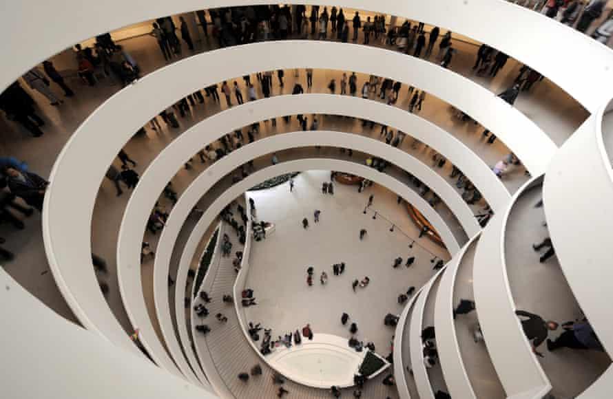 Frank Lloyd Wright's 1959 Solomon R Guggenheim Museum in New York